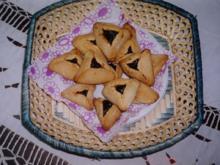 Kekse: Hamantaschen - Rezept