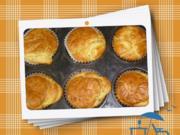 Pikante Quarkmuffins - Rezept