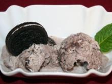 Selbstgemachtes Cookie-Eis - Rezept