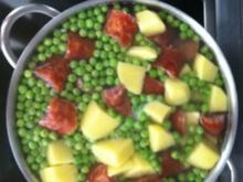 einfache grüne Erbsensuppe - Rezept