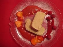 Nougatparfait mit roten Früchten - Rezept