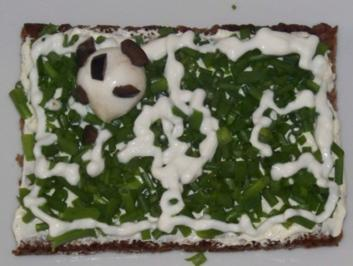 Fußballfeld-Brote - Rezept