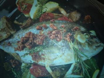 Fisch aus dem Mittelmeerraum - Rezept