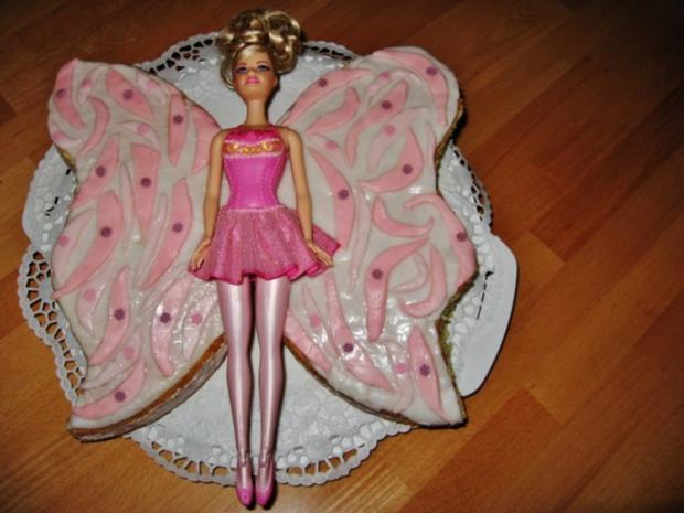 Barbie Mariposa Torte - Rezept