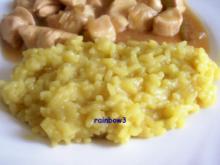 Beilage: Risotto, indisch angehaucht - Rezept