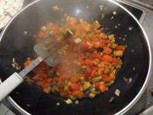Spanische Tortilla mit Hähnchenbrust und Gemüse - Rezept