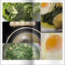 Rezept: Biggi`s Spezial Eiergerichte = Coolers Lieblingsgemüse mit Spiegelei und Kapü