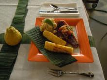 Picanha assada mit gegrillte Banane,Mango und Ananas(NDR Auftritt) - Rezept