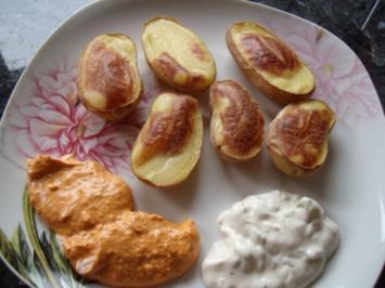 Ballon-Kartoffeln; auch als Beilage zum Grillen geeignet - Rezept