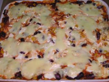Lasagne Mexico - Rezept