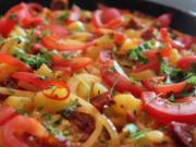 Kartoffelomelett mit Chorizo - Rezept