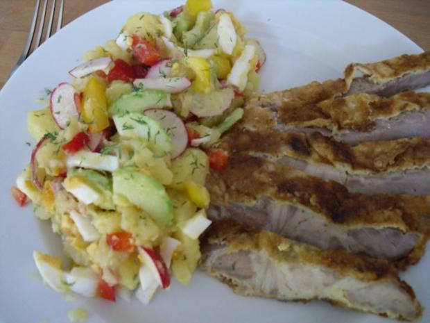 Sommer-Grillsalat - Rezept