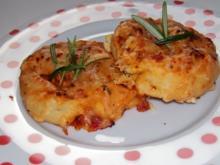 Snack: EM-Pizza-Schnecken mit Parmesan und frischen Kräutern - Rezept