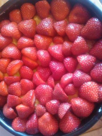 Limburgse Vlaai met Aardbeien en Room (meine Schwiegermutter kam aus Limburg) - Rezept - Bild Nr. 4