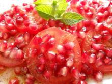 Tomaten-Granatapfel-Salat - Rezept