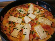 Omelett mit Camenbert - Rezept