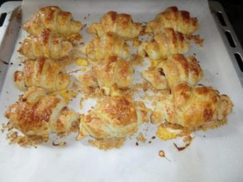 Herzhafte Croissants - Rezept
