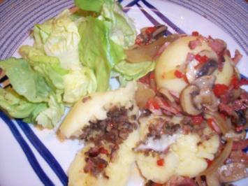 Gefüllte Kartoffelklöße - Rezept