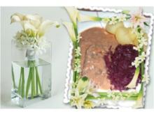 Fleisch : Rinderbraten in Rotwein - Balsamico - Rezept