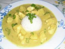 Hühnercurry in Kokosmilch und Ananas - Rezept