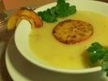 Apfel Kartoffel Suppe - Rezept