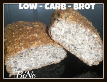 Rezept: BiNe` S LOW - CARB - BROT