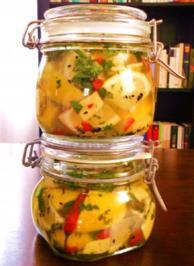 Rezept: Sauer-pikant eingelegte Zitronen (Afghanische Art)