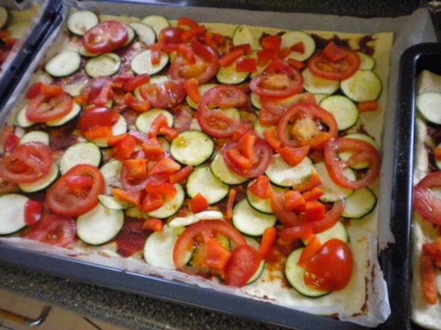 Gemüsekuchen - Rezept - Bild Nr. 8