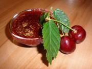 Süßkirsch-Cranberry-Konfitüre - Rezept