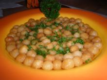 Backerbsen-Suppe - Rezept
