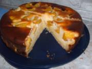 Pfirsich-Mascarpone-Torte - Rezept