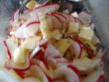 Radieschensalat mit Käse - Rezept