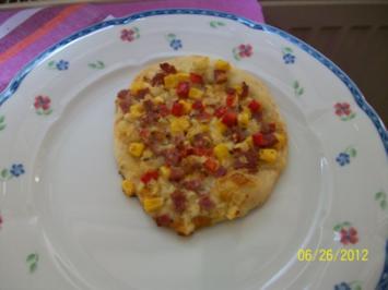 Pizzazunge - Rezept