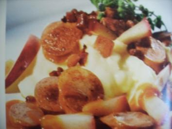 Apfel - Currywurst - Rezept