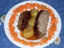 Chili-Rinderhackbraten NT mit Johannisbeersauce - Rezept
