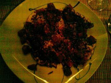 Abendbrot: Pikantes Spiegelei mit Tomate - Rezept