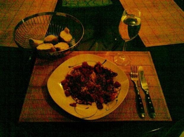 Abendbrot: Pikantes Spiegelei mit Tomate - Rezept - Bild Nr. 5