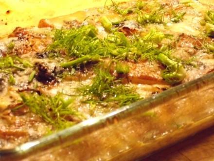 Fenchel-Birnen-Gratin - Rezept