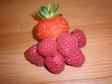 Himbeer-Erdbeer-Konfitüre - Rezept