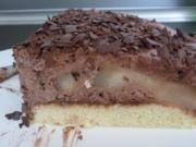 Birne- Helen- Torte - Rezept