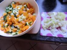 Vollkornspaghetti mit Gemüsesauce - Rezept