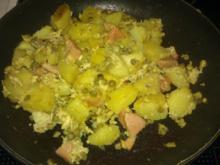 Schnelle Kartoffelpfanne - Rezept