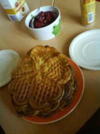 Honig-Zimtwaffeln - Rezept