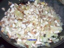 Sauce: Champignon-Zwiebel-Sauce - Rezept