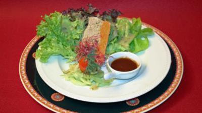 Fischterrine an Reichenauer Salatplättle - Rezept