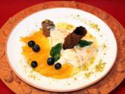 Cassata di Arance auf Orangen-Likörspiegel - Rezept