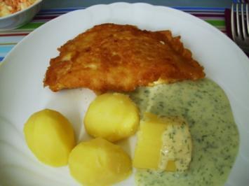 Fischfilet in Eihülle - Rezept