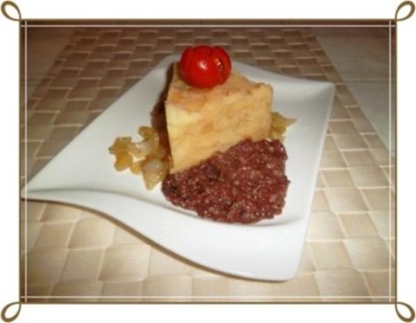 Blutwurst mit Stampfkartoffeln und viel gebratenen Zwiebeln - Rezept - Bild Nr. 7