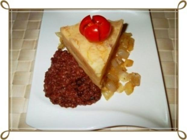 Blutwurst mit Stampfkartoffeln und viel gebratenen Zwiebeln - Rezept - Bild Nr. 8