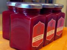 Samtige Erdbeermarmelade mit Pfeffer - Rezept